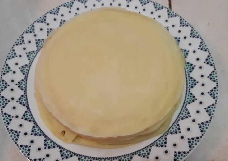 Resep mengolah Dadar kulit untuk Chicken egg roll dan Semar mendem istimewa