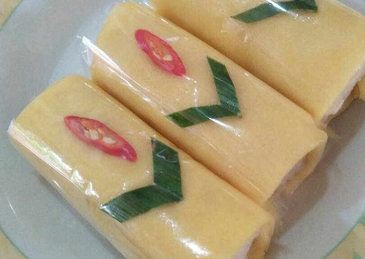 Resep: Semar mendem isi ayam homemade#festivalresepasia#indonesia