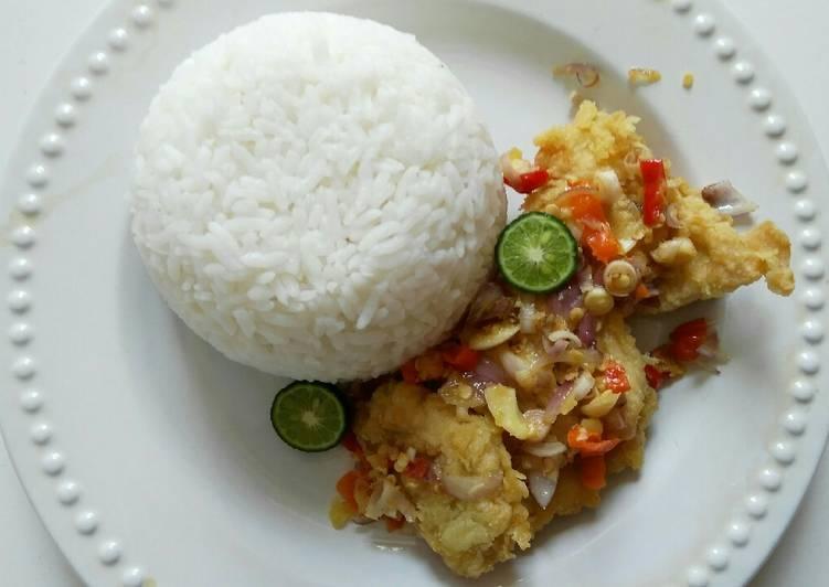 Ayam Pop Sambel Matah