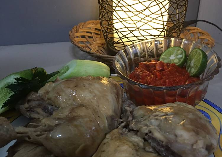 Ayam Pop Sederhana