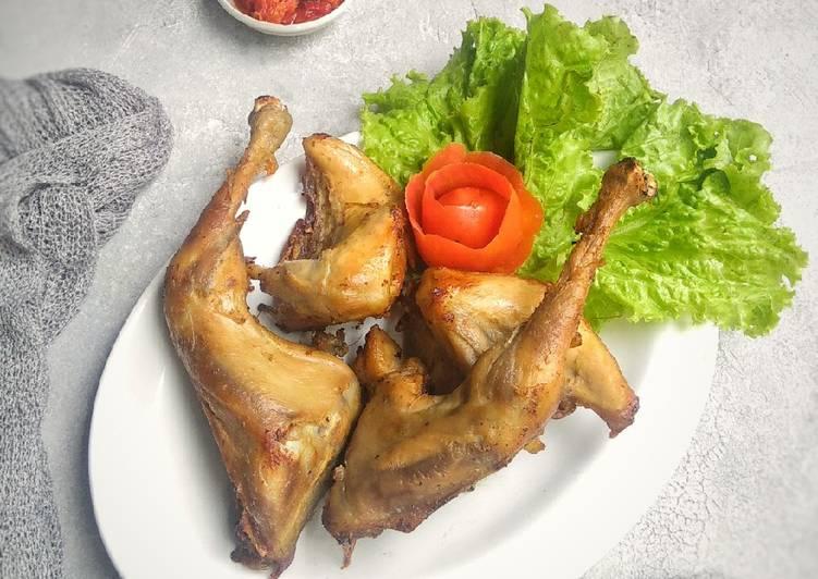 Resep membuat Ayam pop lezat