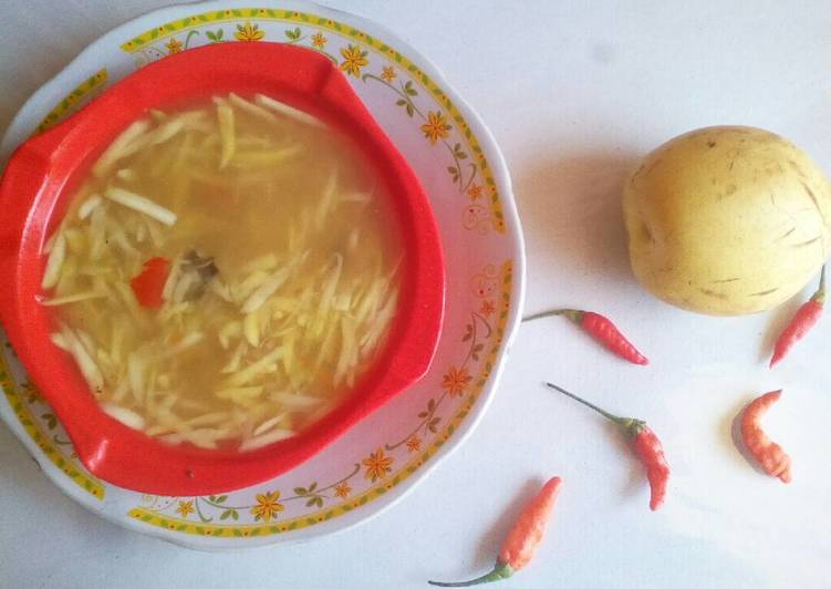 Resep: Rujak mangga muda (serbat)
