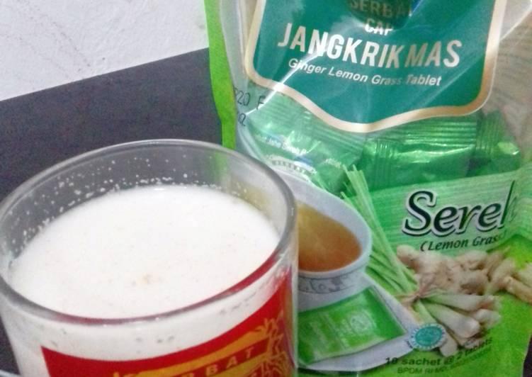 Resep mengolah Jahe sereh susu madu