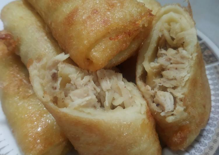 Resep memasak Sosis Solo Ayam mie ala resto