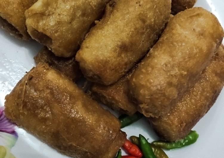 Resep memasak Sosis Solo isi daging