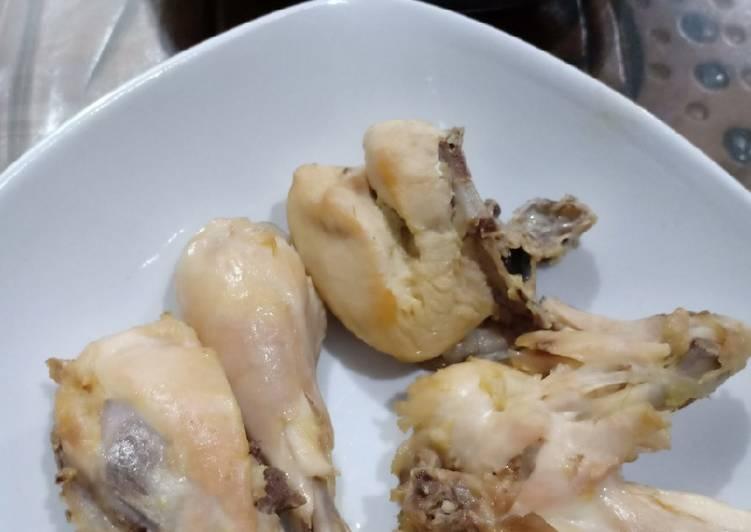 Ayam Pop (tanpa air kelapa)