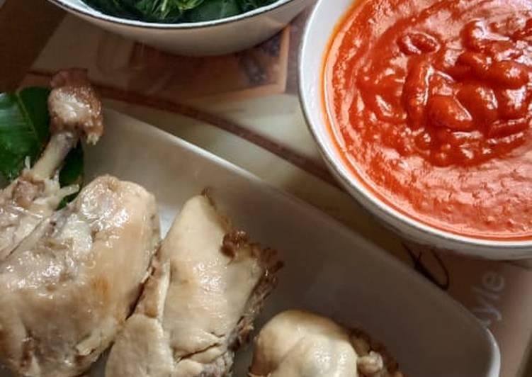Resep membuat Ayam Pop Ala Restoran yang menggugah selera