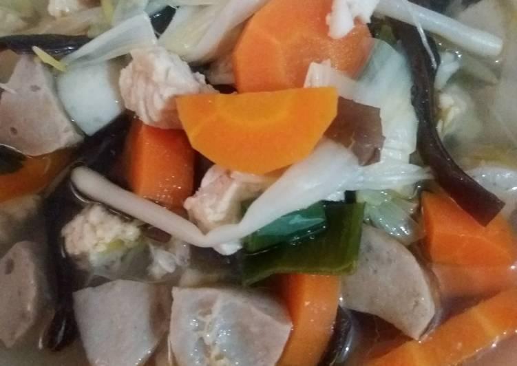 Resep: Sup Timlo yang menggugah selera