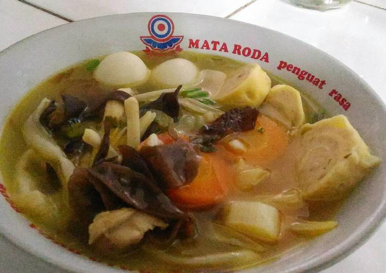 Resep: Sup Timlo (Kimlo) ala resto