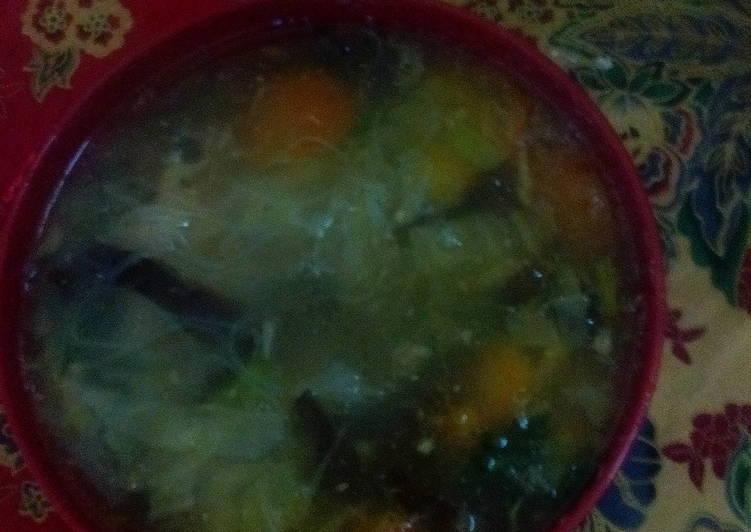 Resep: sup timlo