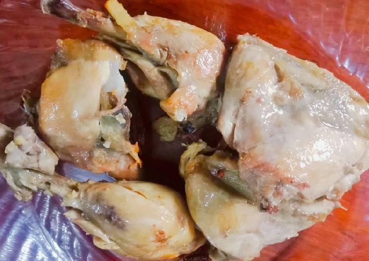Resep: Ayam Pop Ala-ala yang menggoyang lidah