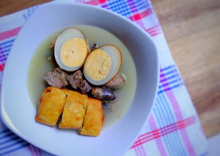 Cara Mudah memasak Timlo Solo Keto | #keto #ketopad yang bikin ketagihan