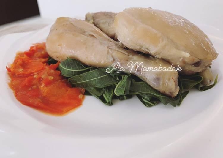 Resep membuat Ayam Pop khas Padang lezat