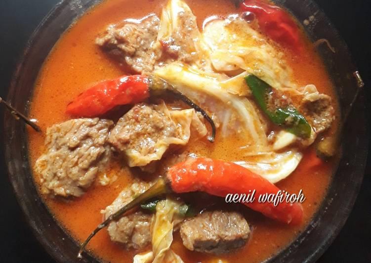 Resep mengolah Tongseng daging sapi istimewa