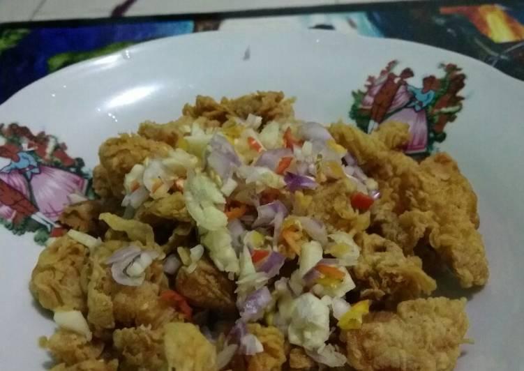Cara Mudah membuat Ayam Pop Rasa KFC Pedas yang bikin ketagihan