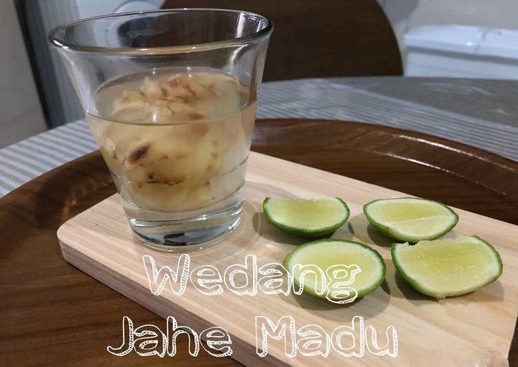 Cara membuat Wedang Jahe Madu GoldenApron3-03 yang bikin ketagihan