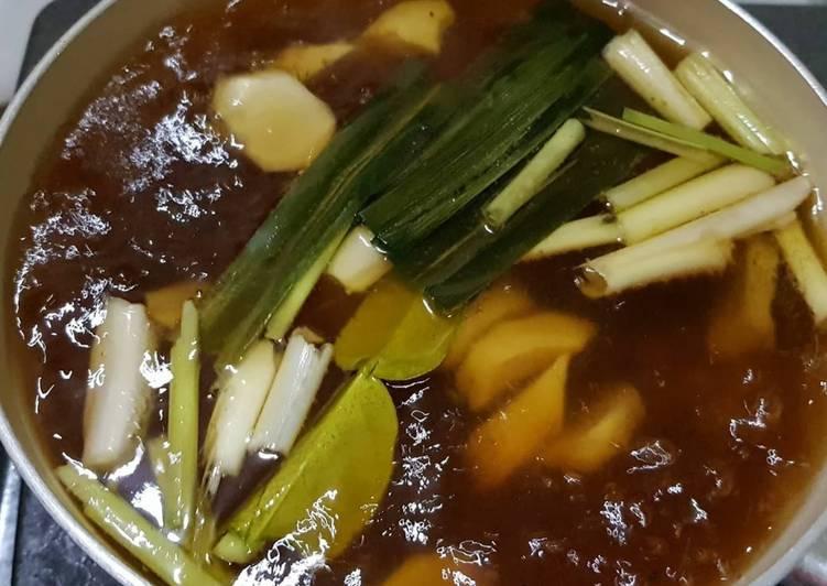 Resep memasak Wedang jahe khas jogja yang menggugah selera