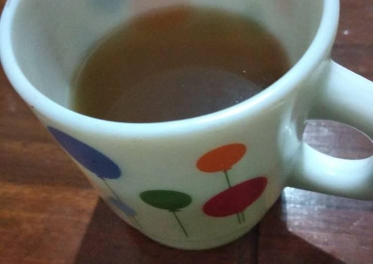 Cara Mudah membuat Wedang jahe gula merah ala resto