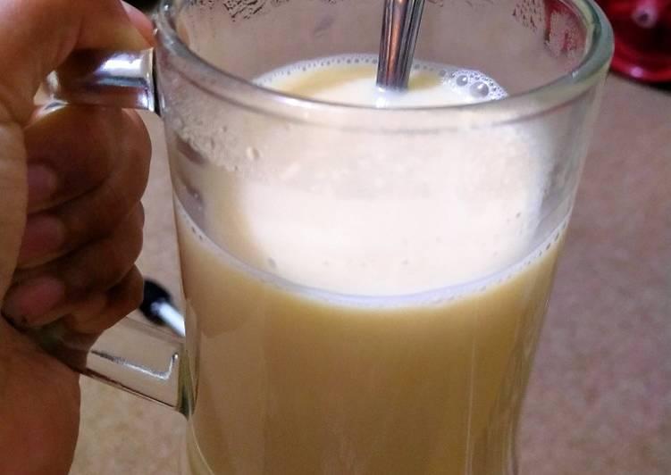 Resep mengolah Wedang jahe susu sedap
