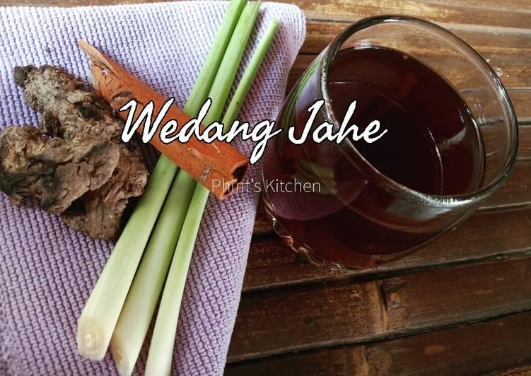 Resep: Wedang Jahe Home Made yang menggugah selera
