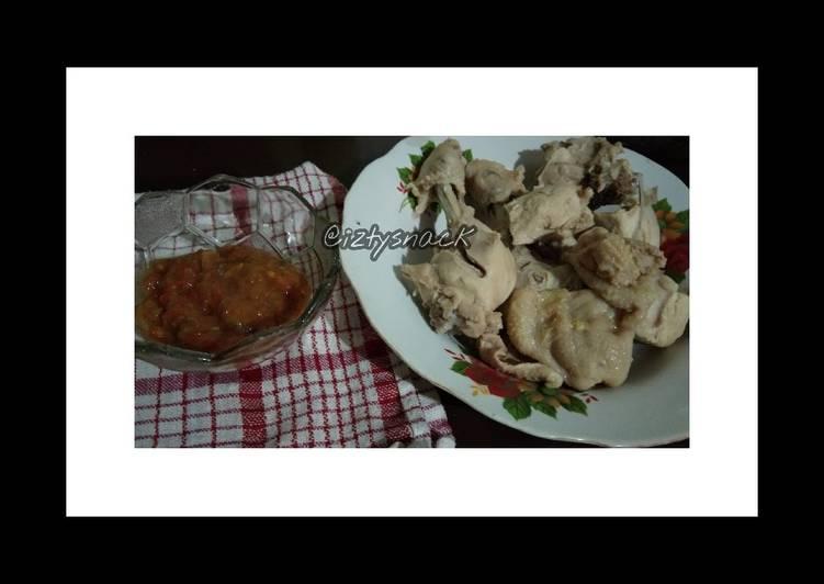 Cara Mudah mengolah Ayam POP Khas Sumatera Barat by @iztysnack yang bikin ketagihan