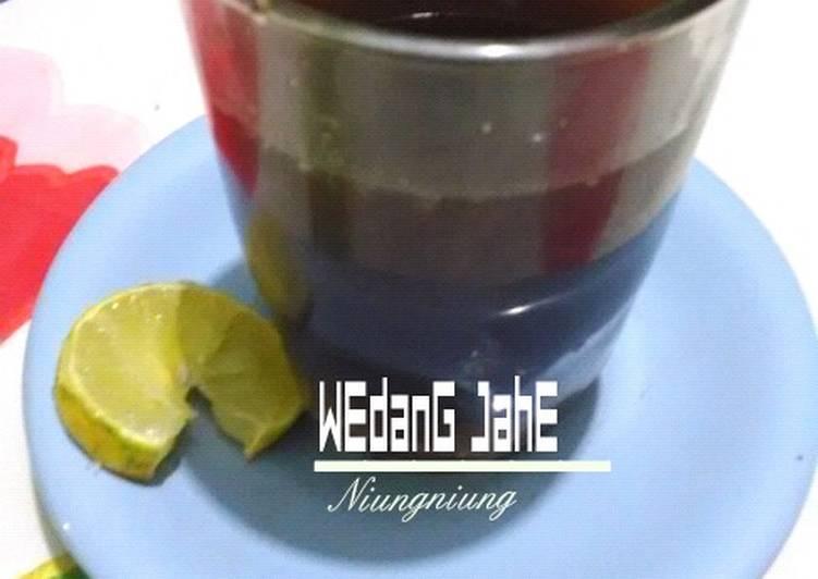 Resep mengolah Wedang Jahe yang bikin ketagihan