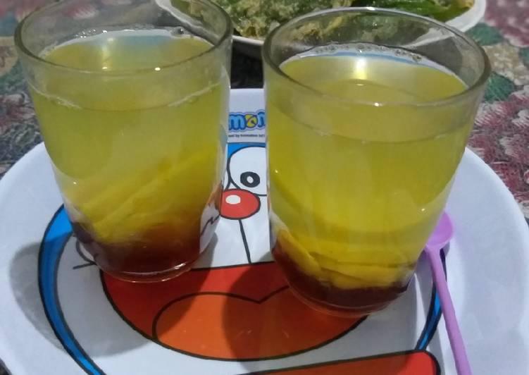 Resep mengolah Minuman Sehat Wedang Jahe simple enak