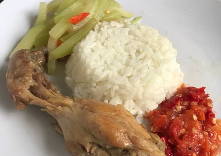 Cara membuat Ayam pop kilat super simple sedap