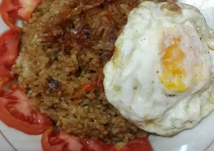 Resep memasak Nasi goreng bumbu gule pedazzzzz mantap super praktis istimewa