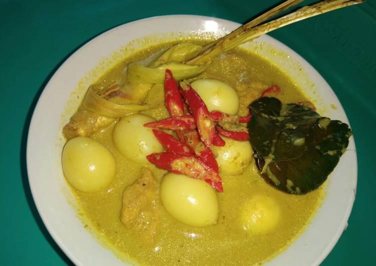 Cara membuat Gulai kuning telur puyuh tahu goreng mantap ala resto
