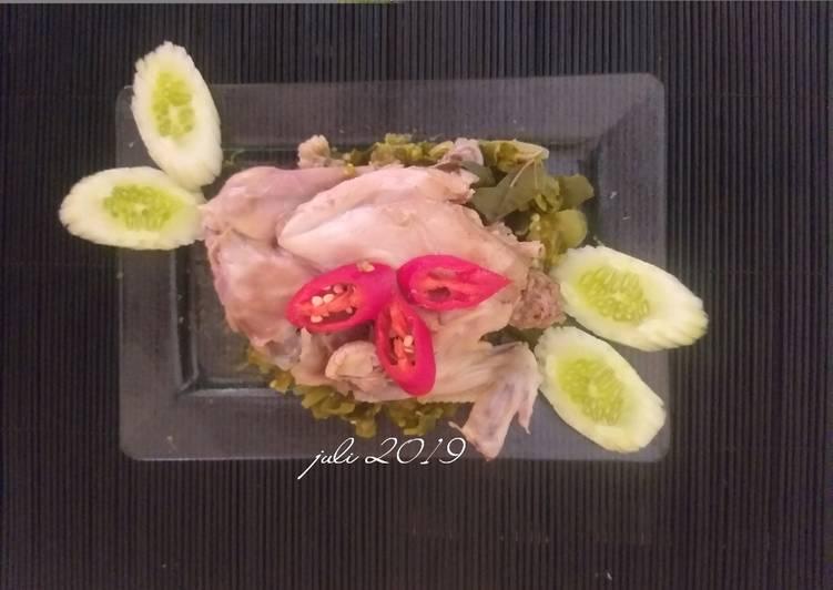 Resep mengolah Ayam pop yang menggugah selera