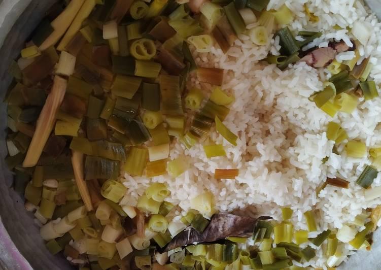 Resep: Nasi liwet sederhana sedap