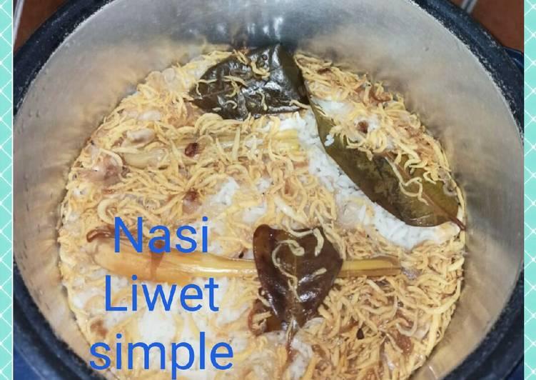 Resep memasak Nasi liwet Simple ala resto