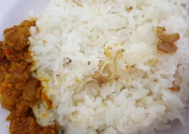 Resep: Nasi Liwet Rice Cooker / Magic Com yang menggugah selera