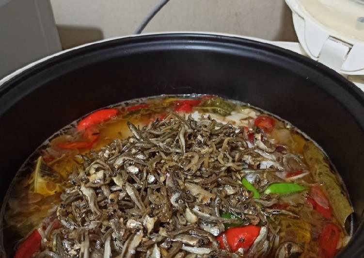 Resep: Nasi Liweut Magicom ala resto