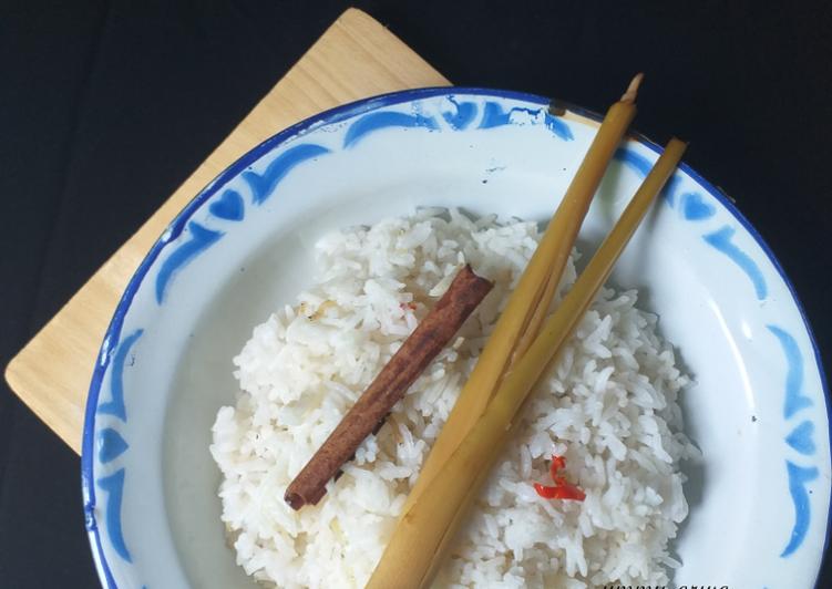 Resep: Nasi liwet rice cooker #69² istimewa