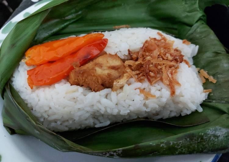 Resep: Nasi liwet bakar rice cooker sedap