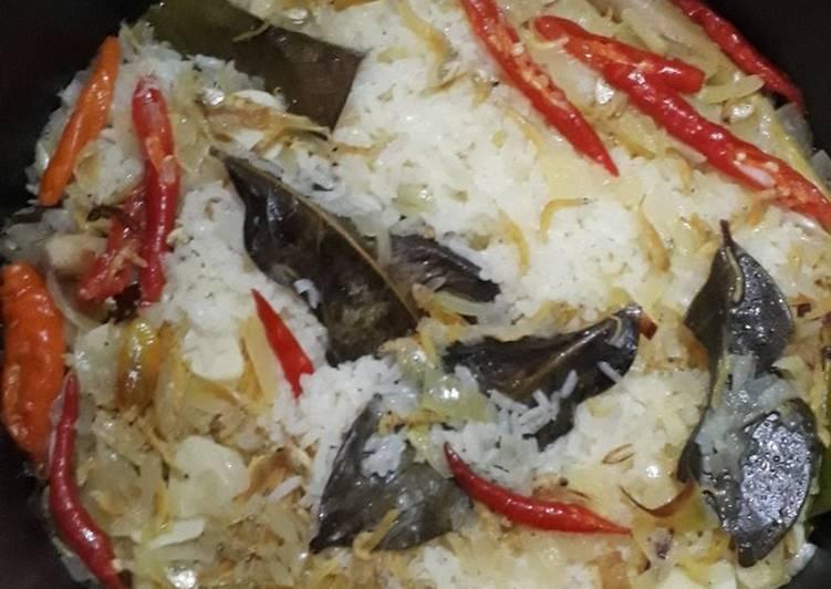 Cara Mudah memasak Nasi liwet lezat
