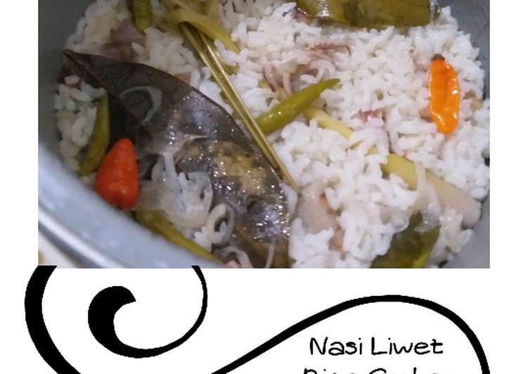 Resep: Nasi Liwet Rice Cooker Ala Anak Kos yang menggugah selera
