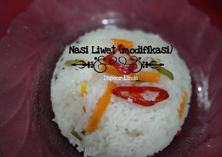 Cara Mudah membuat Nasi Liwet ricecooker enak