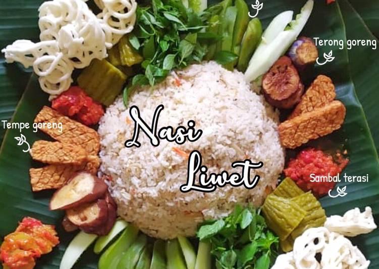 Resep: Nasi liwet (magic com simple) istimewa