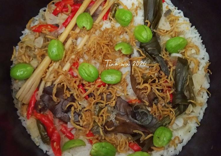 Cara membuat Nasi Liwet simple rice cooker sedap