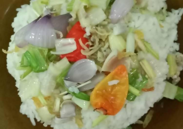 Cara mengolah Nasi liwet rempah