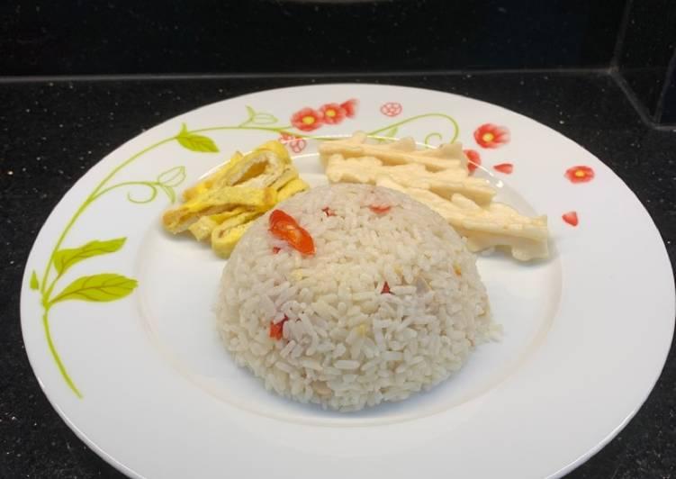Resep: Nasi liwet rice cooker endolita istimewa