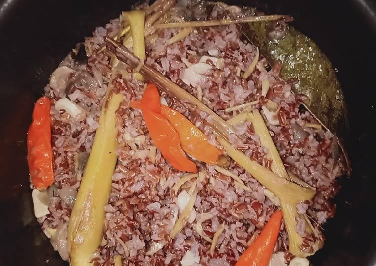 Cara Mudah mengolah Nasi liwet Beras meras lezat