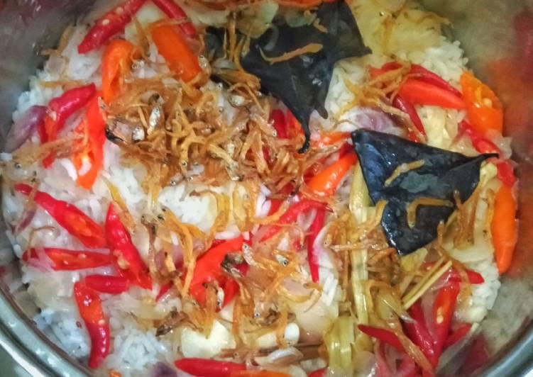 Resep: Nasi Liwet Magicom sederhana lezat