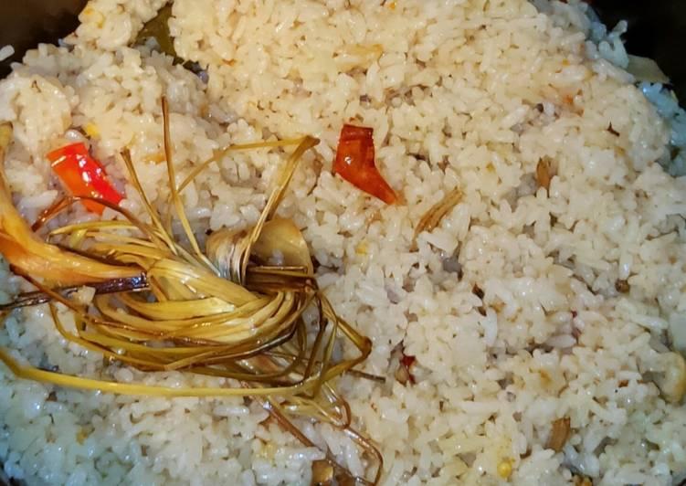 Cara Mudah mengolah Nasi liwet magic com / rice cooker yang bikin ketagihan