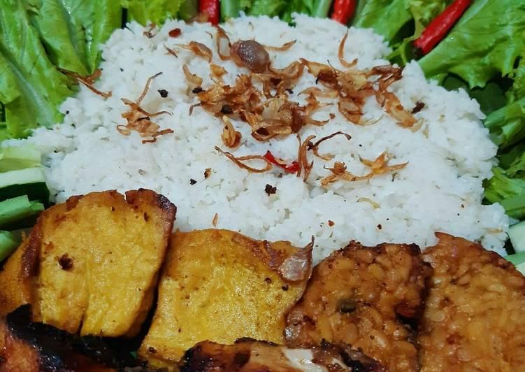 Cara memasak Nasi liwet magic com🍚 sedap