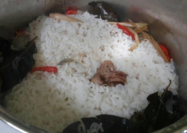 Resep: Nasi liwet rice cooker enak