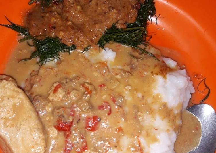 Resep memasak Bubur tumpang yang menggugah selera